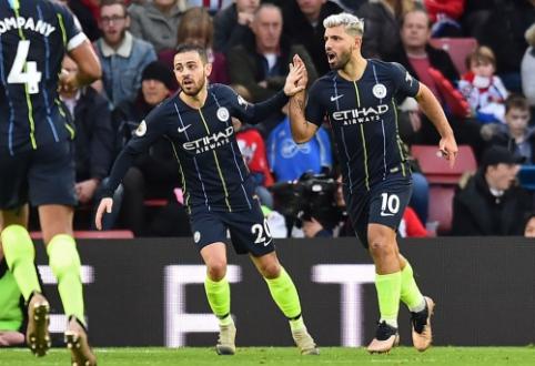 """""""Man City"""" grįžo į pergalių kelią, """"Chelsea"""" triumfavo Londono derbyje"""