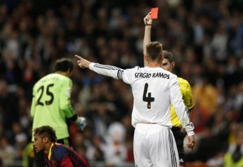 S. Ramosas pirmą kartą savo karjeroje metus užbaigė negavęs raudonos kortelės