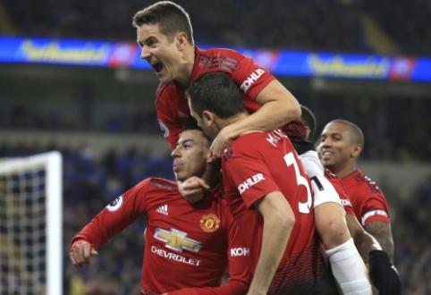 """Solskjaero efektas: """"Man Utd"""" Kardife pasiekė didžiausią pergalę šiame sezone"""