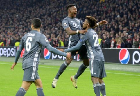 """Grupių etapas finišavo neįtikėtinomis """"Bayern"""" lygiosiomis ir Man Utd"""" bei """"Juventus"""" klubų pralaimėjimais"""