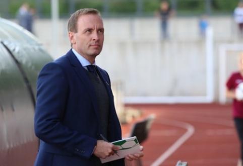 Į Kiprą dirbti išvykęs C. Falchas atsistatydino iš U-21 rinktinės trenerio pareigų