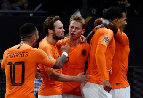 Tautų lygos pusfinalyje – Nyderlandų ir Anglijos rinktinių dvikova