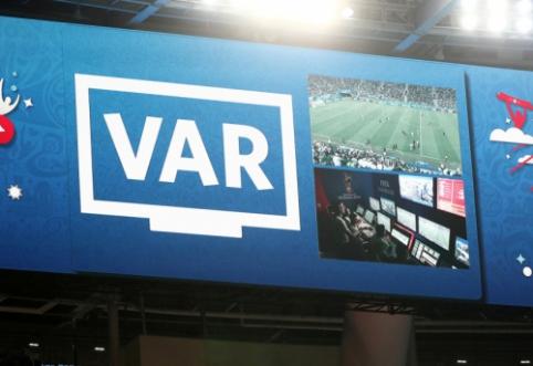 Čempionų lygoje po Naujų metų bus pradėta naudoti VAR sistema