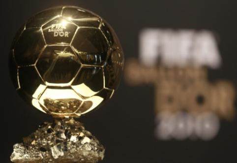 Šiandien Paryžiuje paaiškės geriausias metų futbolininkas