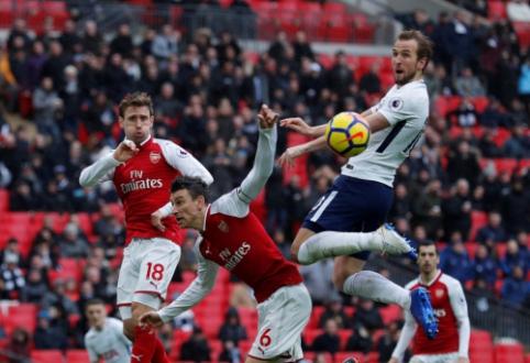 """""""Emirates"""" stadione – pirmoji šio sezono Šiaurės Londono klubų akistata"""