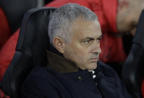 J. Mourinho po lygiųjų kaltino ne pasirinktą taktiką, bet žaidėjų nenorą kovoti