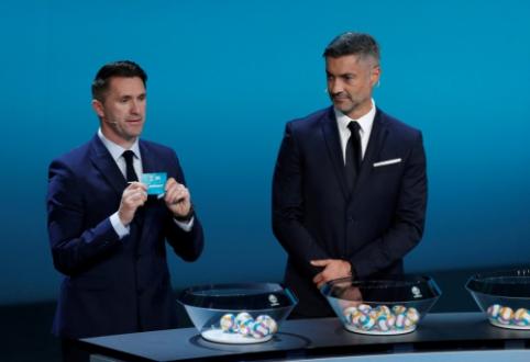 Ištraukti Europos čempionato atrankos burtai: Į Lietuvą atvyks C. Ronaldo atstovaujama Portugalija