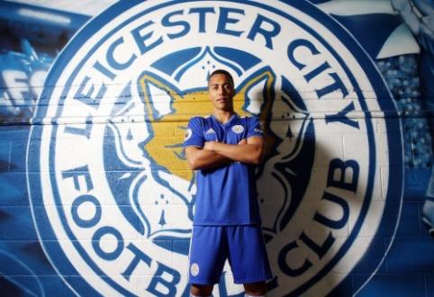 """Y. Tielemansas atvyksta į """"Leicester"""", A. Silva iškeliauja į Monaką"""