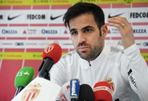 """C. Fabregasas: """"Henry buvo pagrindinė priežastis, kodėl atvykau į """"Monaco"""""""