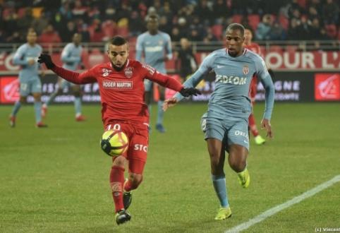 """Permainos nepadėjo: """"Monaco"""" krito prieš """"Dijon"""""""