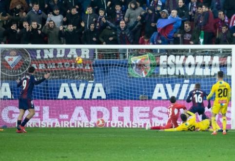 """La Liga"": ""Eibar"" parodė jėgą prieš ""Espanyol"""