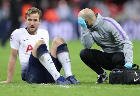 """""""Tottenham"""" keliems mėnesiams prarado H. Kane'ą"""