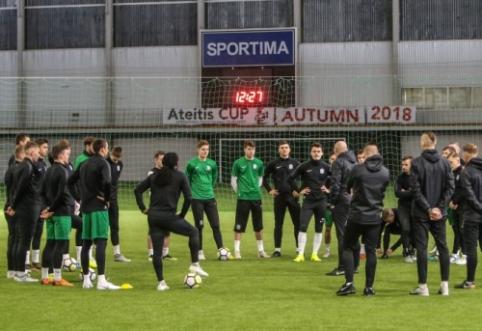 """""""Žalgiris"""" pradėjo pasiruošimą sezonui, peržiūroje – jauni lietuviai"""