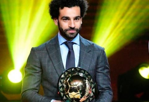 M. Salah antrą kartą iš eilės pripažintas geriausiu Afrikos futbolininku