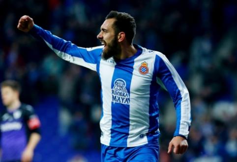 """""""Espanyol"""" nutraukė pralaimėjimų seriją, """"Levante"""" ir """"Girona"""" išsiskyrė taikiai"""