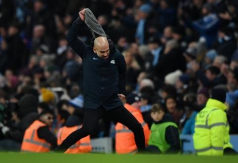 """P. Guardiola: """"Kiekvienos rungtynės dabar yra finalas"""""""