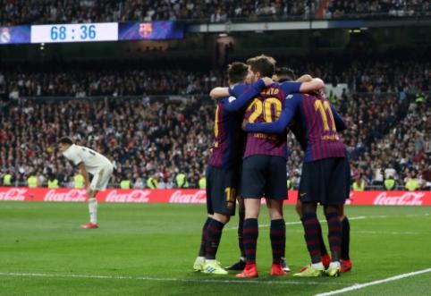"""Savo progų neišnaudojęs """"Real"""" išsiuntė """"Barceloną"""" į Karaliaus taurės finalą"""