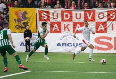 """""""Sūduva"""" – antrus metus iš eilės LFF Supertaurės nugalėtoja"""