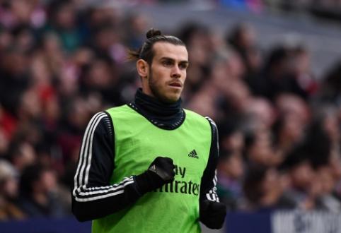 """D. Berbatovas: """"Bale'ui reikėtų palikti Madrido """"Real"""" klubą"""""""
