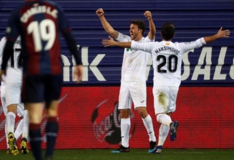 """""""Eibar"""" ir """"Getafe"""" dvikovoje – rezultatyvios lygiosios"""