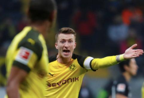 """""""Borussia"""" prieš """"Tottenham"""" versis be keturių kertinių komandos žaidėjų"""