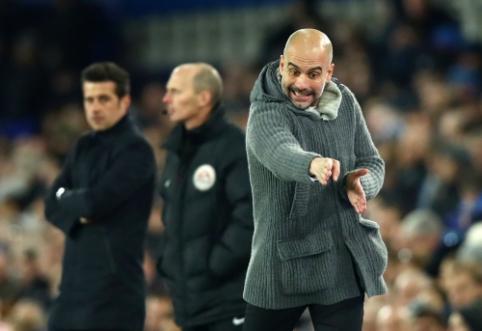 """""""Liverpool"""" ekipai ant kulnų minantis P. Guardiola: """"Niekada negalima pasiduoti"""""""