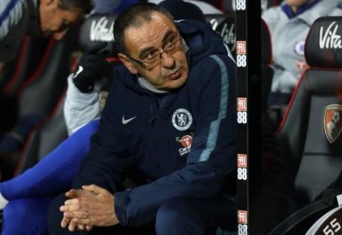 """M. Sarri: """"Treniruodamas """"Napoli"""" jaučiau didesnį spaudimą"""""""