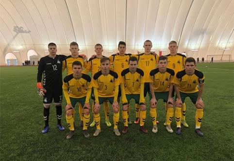 U-19 rinktinė du kartus pralaimėjo Baltarusijai, treneris prakalbo apie progų realizaciją