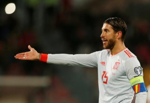 S. Ramosas pakartojo I. Casillaso rekordą Ispanijos rinktinėje