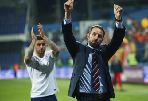 G. Southgate'as dėl rasizmo prieš Anglijos rinktinės futbolininkus kreipsis į UEFA