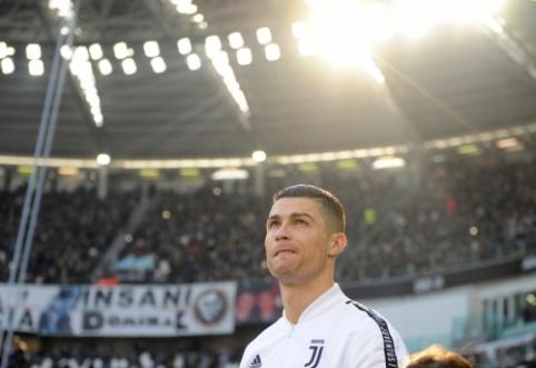 """""""Juventus"""" dėl C. Ronaldo bylos vasarą nevyks į JAV"""