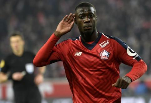 """""""Lille"""" priėmė pelningą """"Bayern"""" pasiūlymą už N. Pepe"""