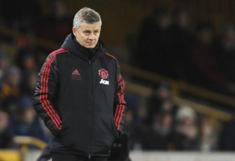 """Solskjaeras po nesėkmės FA taurėje: """"Tai buvo didelis žingsnis atgal"""""""