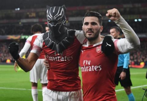 "EL: ""Valencia"" ir ""Arsenal"" išsigelbėjo, ""Eintracht"" eliminavo ""Inter"" ekipą, ""Sevilla"" dramatiškai krito Čekijoje"