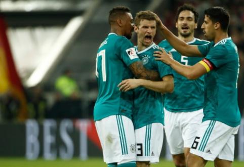 M. Hummelsas, T. Mulleris ir J. Boatengas nebebus kviečiami į Vokietijos rinktinę