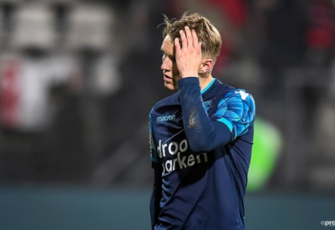 """""""Ajax"""" siūlo 20 mln. eurų už Nyderlanduose spindintį M. Odegaardą"""