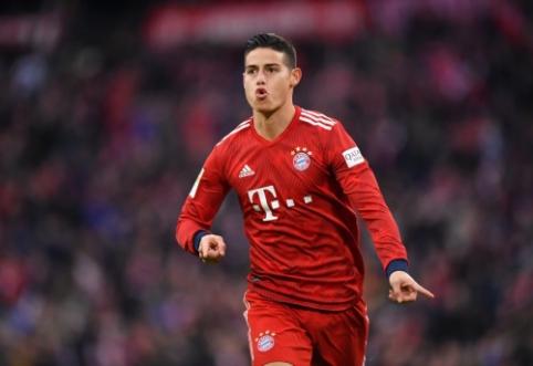 """J. Rodriguezas vasarą sugrįš į Madrido """"Real"""""""