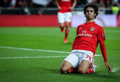 """""""Benfica"""" nesiruošia lengvai atsisveikinti su J.Felixu"""