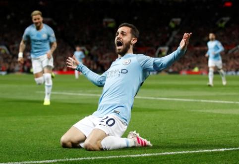 """""""Man City"""" padėjo tvirtą žingsnį kovoje dėl titulo, """"Wolves"""" nubaudė """"Arsenal"""" ekipą"""