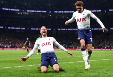 """C. Erikseno šūvis atnešė pergalę """"Tottenham"""" komandai"""
