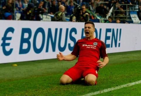 """""""Eintracht"""" valdybos narys: """"Nemaža tikimybė, kad Jovičius išvyks į """"Real"""""""