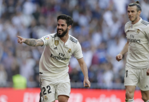 """Spauda: Madrido """"Real"""" ruošiasi atsisveikinti su trimis atakuojančiais žaidėjais"""
