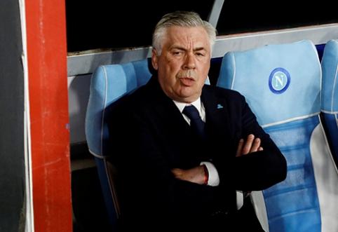C. Ancelotti: žaidėjai padarė viską, ką galėjo