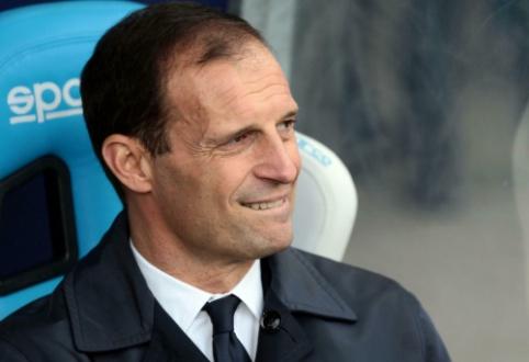 """M. Allegri: """"Serie A"""" lengva atrodo tiems, kurie jos nelaimi"""