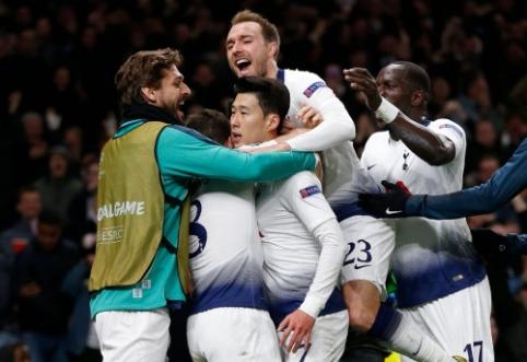 """ČL: """"Tottenham"""" skėlė antausį """"Man City"""" ekipai, """"Liverpool"""" susitvarkė su """"Porto"""""""