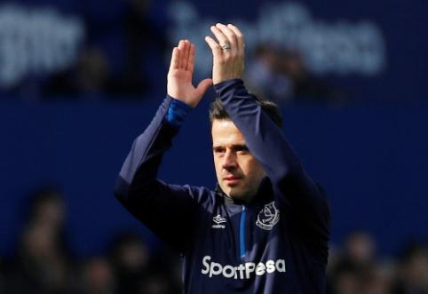 """M. Silva džiaugiasi """"Everton"""" ekipos forma"""