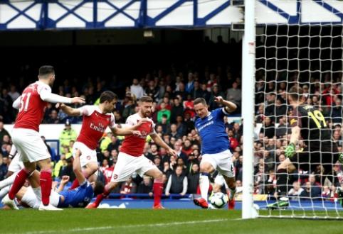 """""""Everton"""" savo sirgalių akivaizdoje parbloškė """"Arsenal"""""""