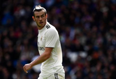 """Z. Zidane'as apie G. Bale'o ateitį: """"Pažiūrėsime po sezono"""""""