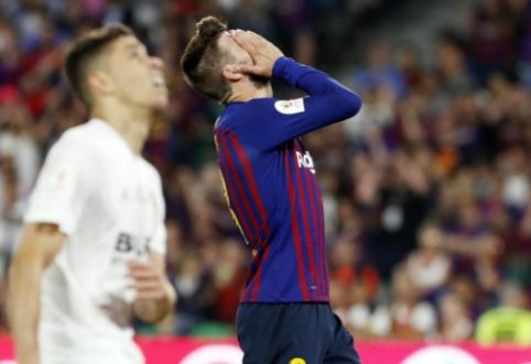"""G. Pique: """"Norime toliau dirbti su Valverde"""""""