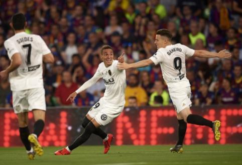 """""""Valencia"""" po sunkios ir dramatiškos kovos triumfavo Karaliaus taurėje"""